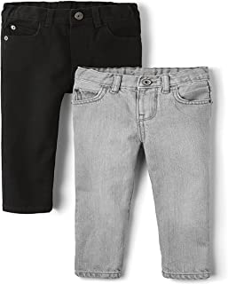 The Children's Place Boys' Two Pack Jeans, Multi CLR, 2T