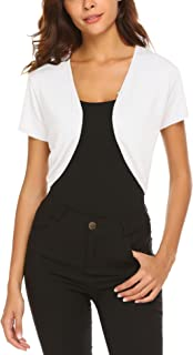 Women Long Sleeve Bolero Shrug Knit Cropped Knitwear Cardigan Sweater Shrug Bolero Jackets