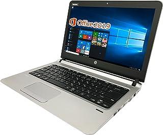 HP ノートPC 430G3/13.3型/MS Office 2019/Win 10 Pro/Celeron 3855U/WEBカメラ/HDMI/wajunのWIFI/BLuetooth/8GB/1TB HDD (整備済み品)
