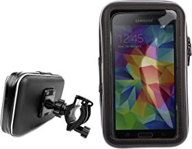 DURAGADGET Bike Mount and Rotating Phone Holder with Clear Capacitive Front - Suitable for Samsung Galaxy S5 / S V/SV/S 5 SM-G900