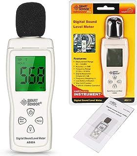 مستوى الصوت الرقمي متر الضوضاء متر ديسيبل متر مع شاشة LCD
