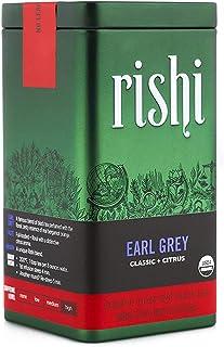 Rishi Tea Earl Grey Loose Leaf Herbal Tea | Immune System Booster, Organic, Caffeinated, Black Tea, Citrus Flavors for Tas...