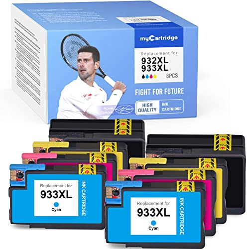 2021 MYCARTRIDGE Compatible Ink high quality Cartridges online Replacement for HP 932XL 933XL Use with Officejet 6600 6700 7612 6100 7610 7110 (2 Black 2 Yellow 2 Cyan 2 Magenta, 8-Pack) outlet sale