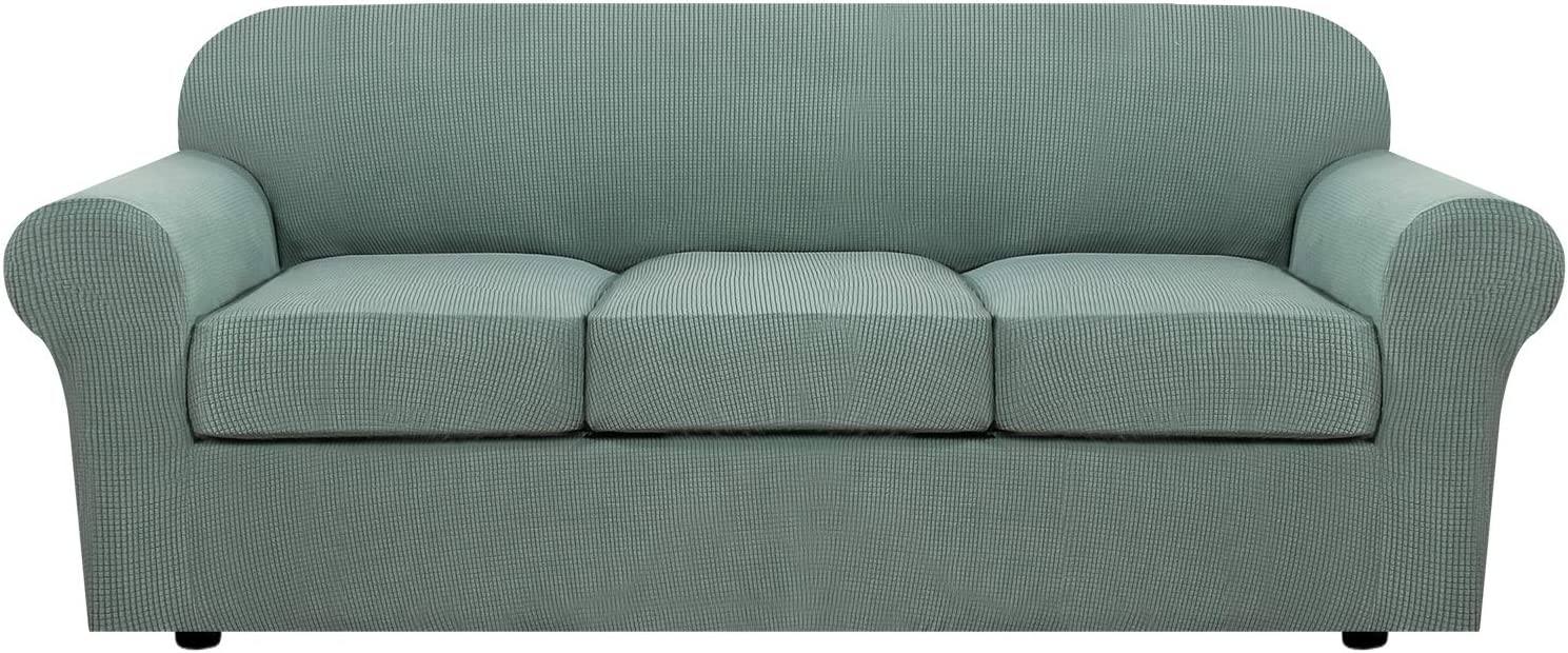 H.VERSAILTEX 4 Piece Stretch Sofa Covers Cushion 3 Cov Couch for National products store