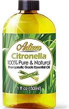 Artizen Citronella Essential Oil (100% Pure & Natural - UNDILUTED) Therapeutic Grade - Huge 1oz Bottle - Perfect for Aroma...