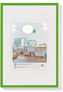 comprar comparacion walther design KV030K New Lifestyle, marco di plástico, 20x30 cm, verde, pack de 1
