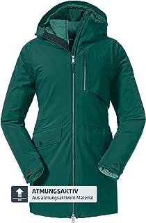 Schöffel 3in1 Parka Moskau L Chaqueta de invierno transpirable con acolchado ecológico y cintura elástica, chaqueta imperm...
