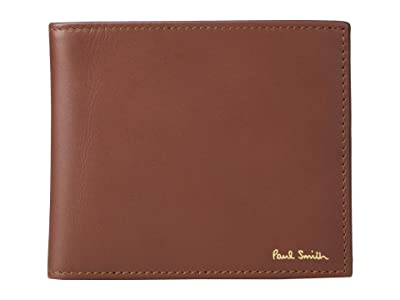 Paul Smith Multistripe Billfold Wallet (Chocolate) Wallet Handbags
