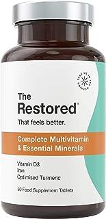 Tabletas Multivitamínicas. Vitamina C. D. Zinc. Hierro. Jengibre y Cúrcuma