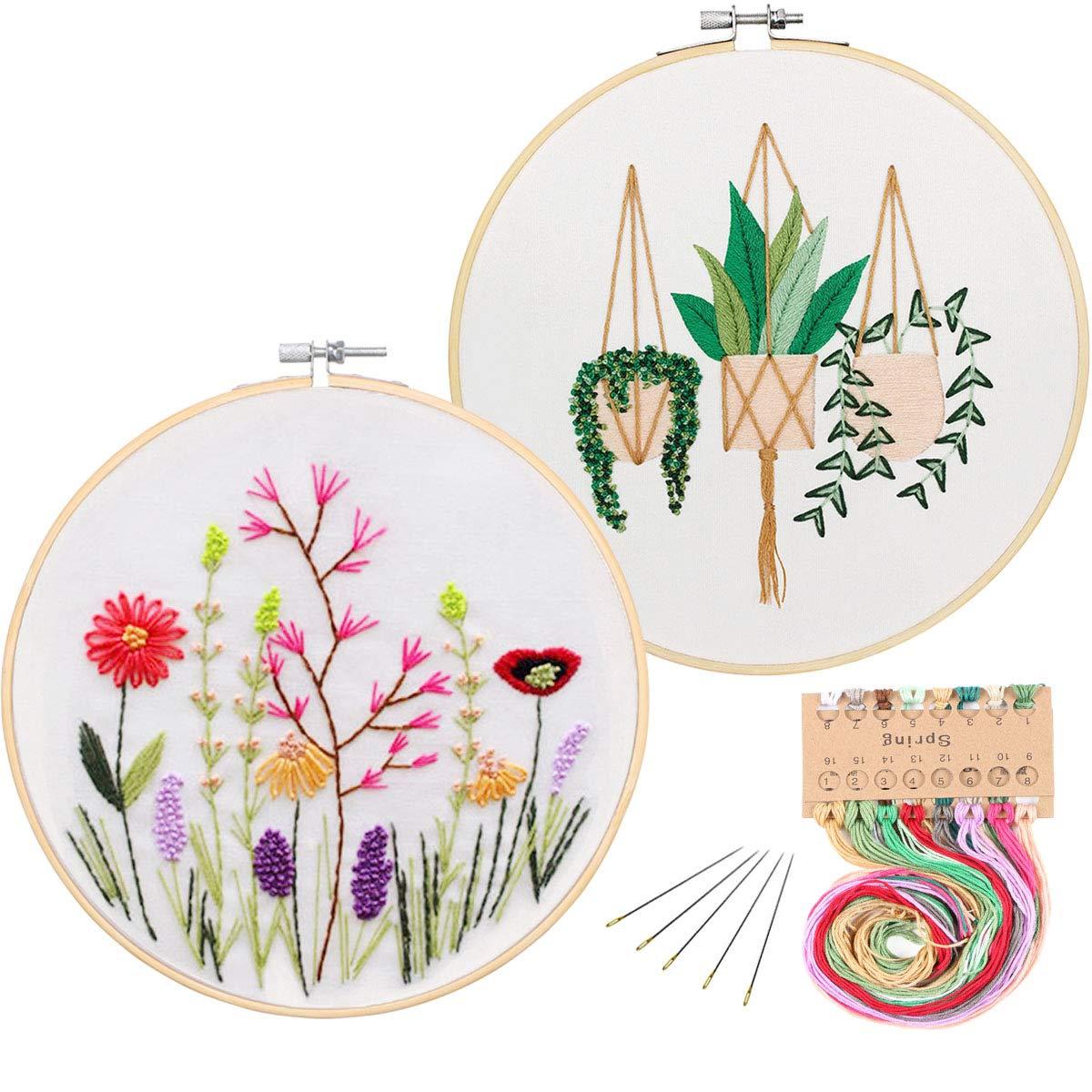 Embroidery Starter Pattern Kissbuty Including