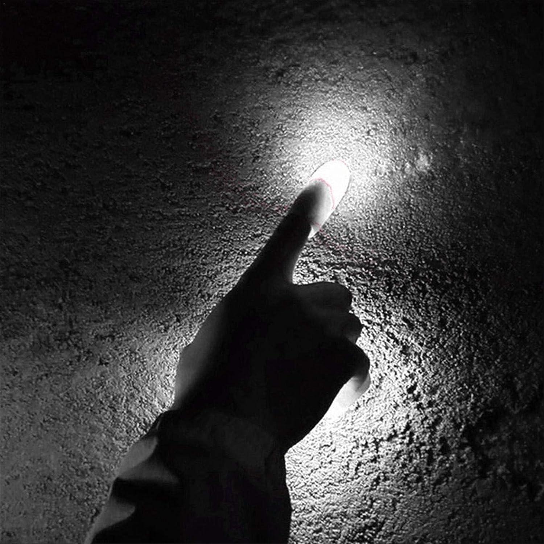 Dedo Falso Juguete de Broma Espect/áculo de Trucos de Magia para Fiestas Truco de Magia con los Dedos iluminados 4 Piezas RION Dedo m/ágico Iluminado Pulgar Luz de Pulgares