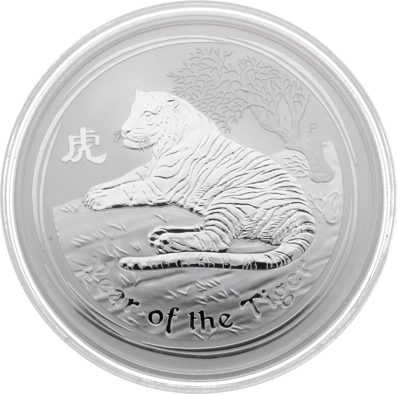 mejor servicio Perth Mint '10oz Australia 10Aud lunar II Tiger 2010 999 999 999 1000Plata encapsulados  el estilo clásico
