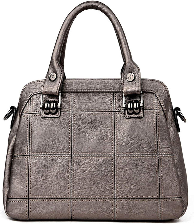 Genuine Leather bags handbags women famous casual large capacity big shoulder crossbody bags female bag
