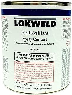 Lokweld Heat Resistant Contact Adhesive - 1 Gallon