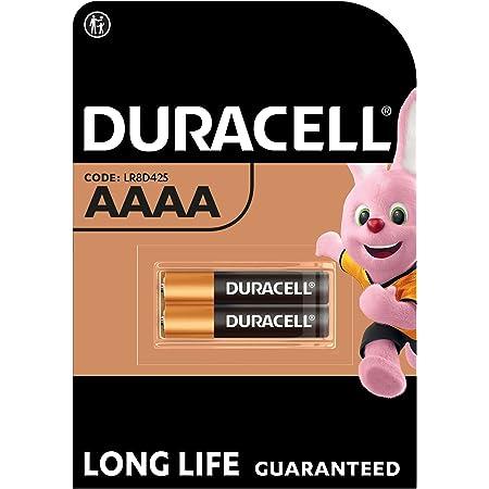 Duracell Ultra AAAA, Batteria Specialistica, 1.5V, confezione da 2, (MN2500/LR8D425) progettate per matite digitali, dispositivi medici e fari