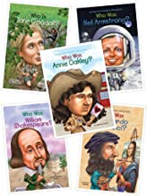Biography Series (5 Books): Who Was Neil Armstrong;who Was William Shakespeare; Who Was Leonardo Da Vinci; Who Was Annie Oakley (Biography for Grade 2 & 3)