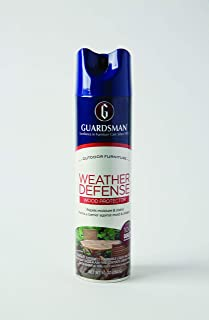 Guardsman 461900 Weather Defense Outdoor Wood Furniture Protector-10 oz-Repels Moisture and Stains-461900, 10 Oz, clear