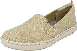 Clarks Step Glow Slip, Zapatillas sin Cordones para Mujer