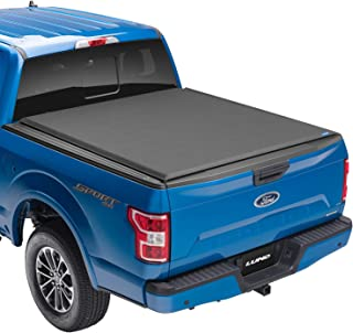 "Lund Genesis Elite Roll Up, Soft Roll Up Truck Bed Tonneau Cover | 96872 | Fits 2015 - 2020 Ford F-150 5' 7"" Bed (67.1"")"