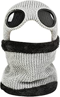 Thenxin Unisex Winter Balaclavas Winter Warm Neck Warmer Outdoor Windproof Earmuffs Hat