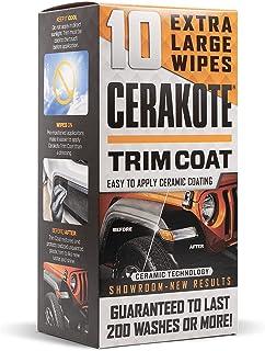 CERAKOTE Ceramic Trim Coat Kit - Quick Plastic Trim Restorer - Guaranteed Restoration to Last Over 200 Washes - A Ceramic ...