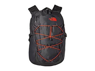 The North Face Borealis (Asphalt Grey/Fiery Red) Backpack Bags