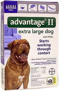 PSL Advantage II (Bl) Dog (55+) 6 month- new label