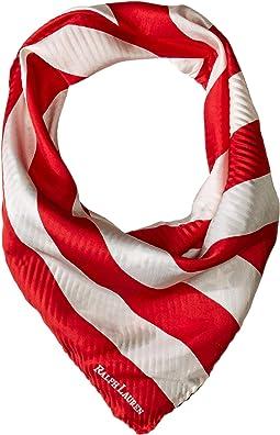 American Flag Silk Bandana Scarf