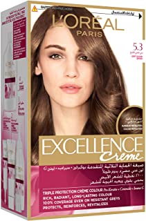 L'Oreal Excellence Creme - 5.3 Golden Light Brown100 gm