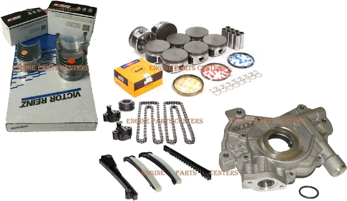 Engine Rebuild Piston Kit Bombing free shipping for Ford Lincoln We OFFer at cheap prices 2007-2008 F150 Naviga