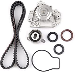 SCITOO Timing Belt Water Pump Gasket Kit Fit 1994-2001 1.8L Acura Integra GS-R Integra Type-R B18C1 B18C5 16 Valve DOHC