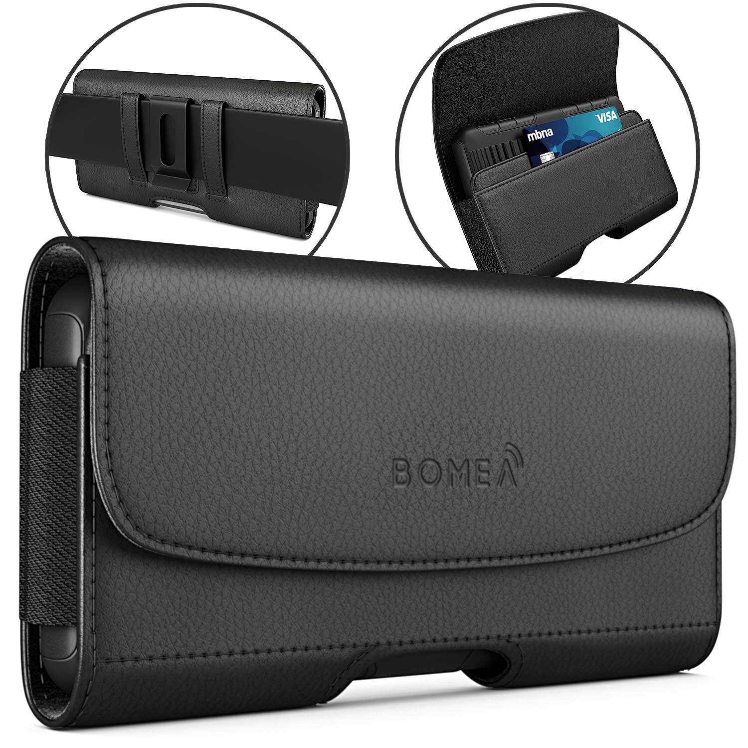 Bomea iPhone Leather Holster Holder