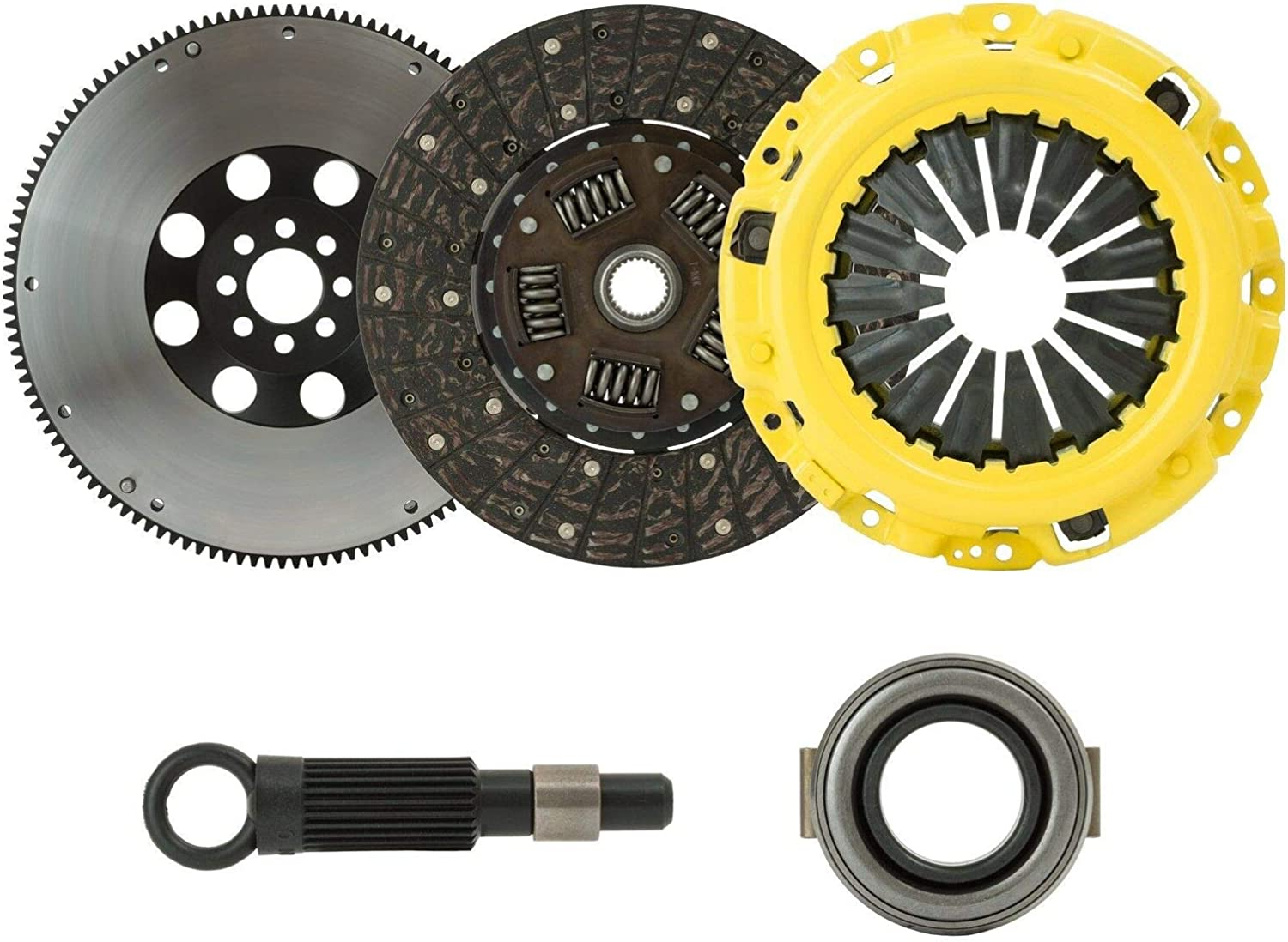Max 63% OFF ClutchXperts Stage 1 Tucson Mall Clutch+FLYWHEEL KIT With C Compatible 88-91
