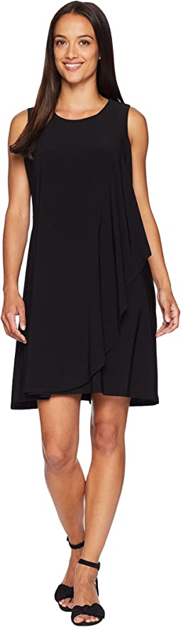Zuri Scoop Neck Dress with Tie