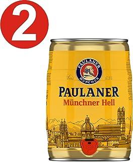 2 x Paulaner Munich infierno 5 litros de caja partido vol 4,9%