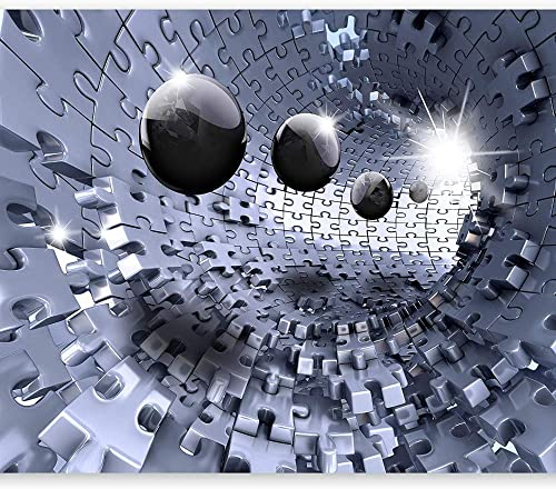 3D Wallpapermodernes Puzzle Abstract -C, 430 Cm × 300 Cm