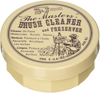 General 105-BP Pencil Masters Brush Cleaner & Preserver, 1 Pack, Clear