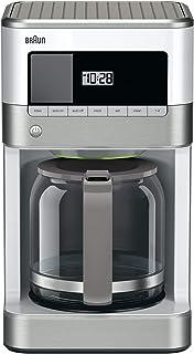 براون KF6050WH کوره قهوه Brewsense Drip، 12 عدد (سفید)