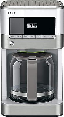 Braun KF6050WH BrewSense Drip Coffee Maker, White