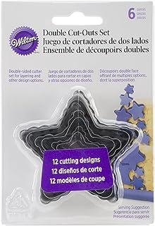 comprar comparacion Wilton Pack de 6 cortadores en Forma de Estrella, Acero, Centimeters