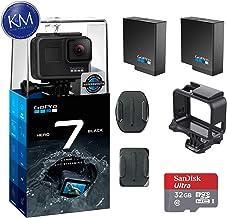 $339 Get GoPro Hero 7 (Black) Action Camera w/ 2 Extra Batteries + 32GB Memory Card