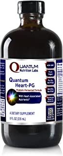 Quantum Heart-PG, 8 oz Vegetarian Liquid - Probiotic-Fermented Formula for Quantum-State Cardiovascular Support