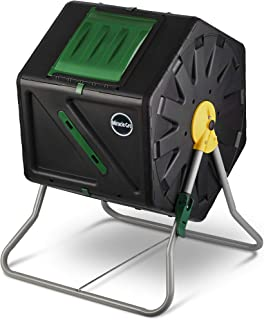 Miracle-Gro Single Chamber Outdoor Garden Compost Bin - Large Volume, Compact Design 27.7gal (105L) Capacity - Heavy Duty,...