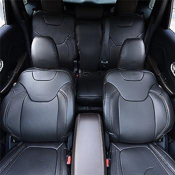 Jeep Cherokee Heavy Duty Black Waterproof Car Seat Covers Full Set