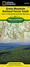 Green Mountain National Forest South [Robert T. Stafford White Rocks National Recreation Area, Manchester] (National Geographic Trails Illustrated Map (748))