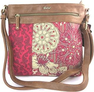 Shoulder bag 'Gabol'red brown.