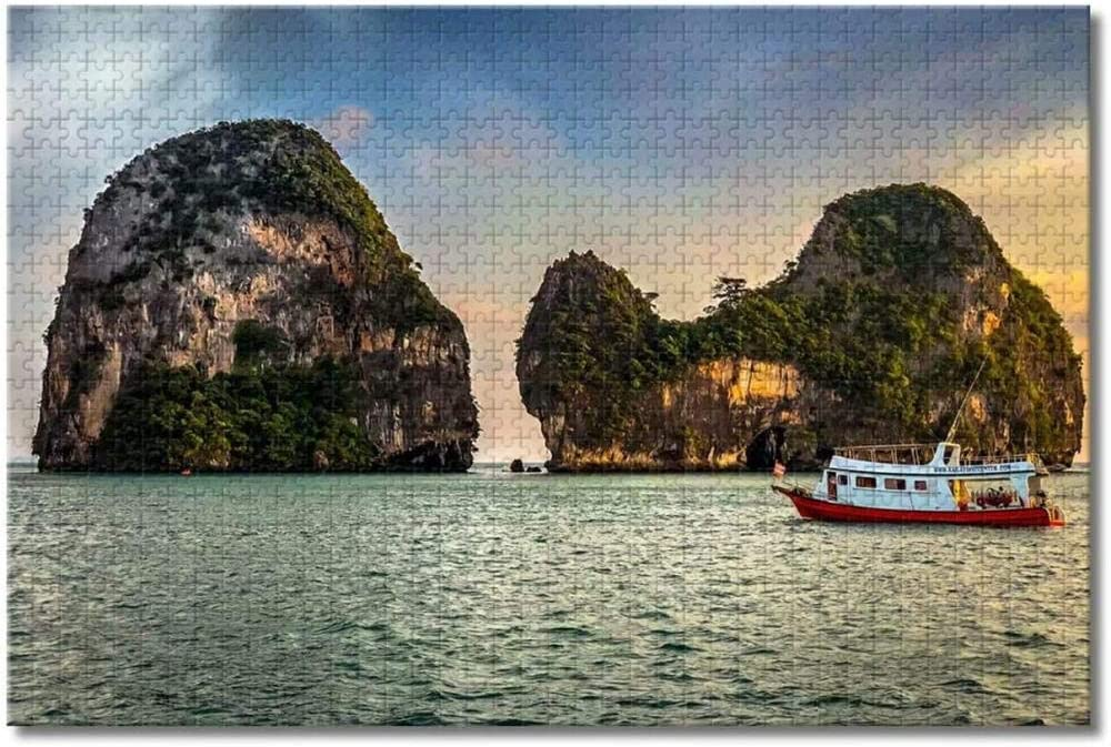 Thailand Krabi Jigsaw All stores are sold Puzzles for Kids Adults Wooden Pieces 1000 5 popular