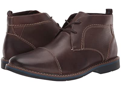 Nunn Bush Pasadena Cap Toe Chukka (Brown) Men