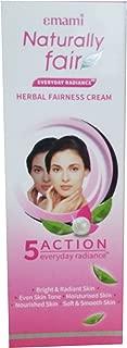 Emami Naturally Fair Herbal Fairness Cream - 50ml Pack of 10