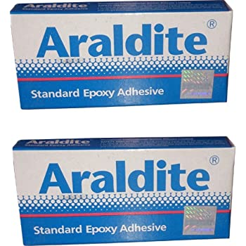 Araldite Standard Epoxy Adhesive (Resin 50 Gms + Hardener 40 Gms) - Wholesale Pack of 10